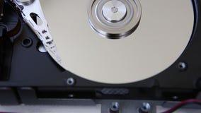 硬盘驱动器,计算机数据存储,镜子表面 影视素材