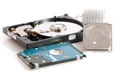 硬盘驱动器2 5和3 向量例证 免版税库存图片