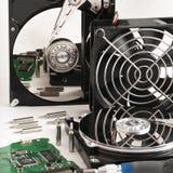 硬盘驱动器2 5和3 向量例证 免版税图库摄影