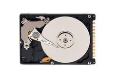 硬盘驱动器 ata背景盘困难hdd现代开放照片s白色 图库摄影