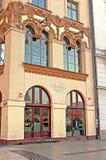 硬石餐厅在克拉科夫,波兰 免版税库存图片