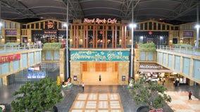 硬石餐厅在圣淘沙海岛新加坡 库存照片