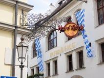 硬石餐厅慕尼黑 库存照片