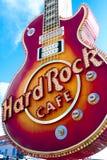 硬石餐厅的偶象标志 图库摄影