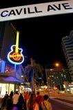 硬石餐厅英属黄金海岸昆士兰澳大利亚 免版税库存图片
