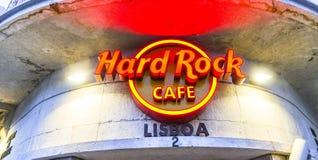 硬石餐厅里斯本 免版税库存图片