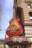 硬石餐厅,费城 库存照片