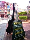 硬石餐厅Melaka 免版税图库摄影