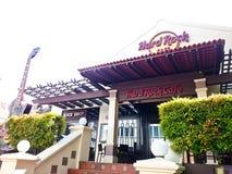 硬石餐厅Melaka 库存照片