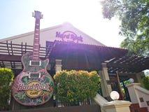 硬石餐厅Melaka 免版税库存照片