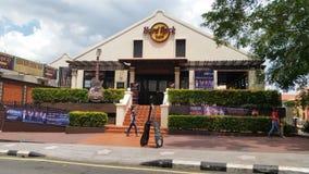 硬石餐厅Melaka 图库摄影