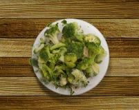 硬花甘蓝的圆白菜分支  图库摄影