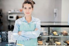 确信的企业家女性 免版税库存图片