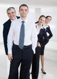 确信的办公室工作者 免版税库存图片