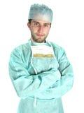 确信的外科医生 免版税库存图片