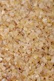 碎小麦,特写镜头 免版税库存照片