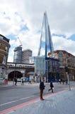 碎片摩天大楼塔在伦敦-英国 免版税库存图片