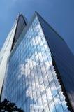 碎片,设计由Renzo Piano,是一个95层摩天大楼在伦敦 免版税图库摄影