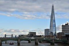 碎片现代建筑学伦敦 免版税库存图片