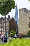 碎片的看法从伦敦塔的 免版税库存图片