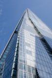 碎片,低角度图,伦敦 免版税库存照片