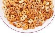 碗健康的早餐食品 免版税图库摄影