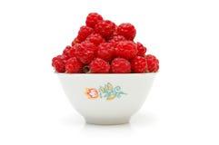 碗充分的莓 免版税库存图片