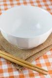碗和筷子 库存照片