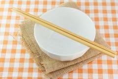 碗和筷子 库存图片