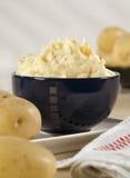 碗土豆泥 库存照片