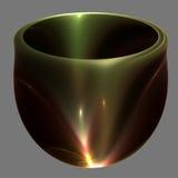 碗搪瓷给了上釉 免版税图库摄影