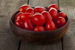 碗新鲜的蕃茄 库存图片