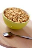 碗早餐食品 免版税库存照片