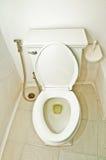 碗有益健康的洗手间 免版税库存照片