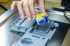 洗碗机机器 库存照片
