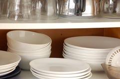 碗柜厨房 免版税库存照片