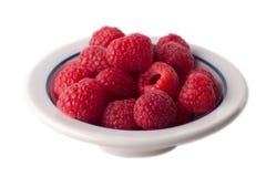 碗查出莓 库存图片