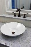 碗水槽 库存图片