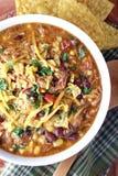 碗猪肉炖煮的食物 库存图片