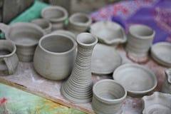 碗筷陶瓷 免版税库存照片