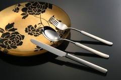 碗筷 免版税库存照片