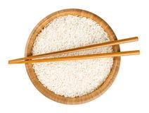 碗米用棍子 库存图片