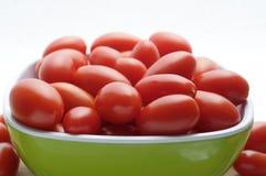 碗葡萄蕃茄 免版税库存照片
