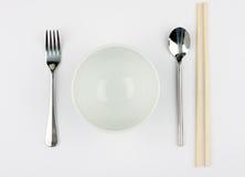 碗面条米 免版税库存图片