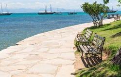 碧姬・芭杜沿海岸区在Buzios,里约热内卢 库存图片