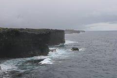 碰撞18的波浪 免版税库存照片