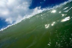 碰撞2的波浪 库存照片