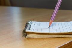 轻碰笔记本 免版税图库摄影
