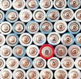 碱性电池AAA 免版税库存照片