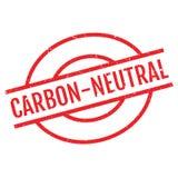 碳中立不加考虑表赞同的人 免版税图库摄影